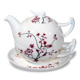 Tea-for-one `Cherry Blossom`