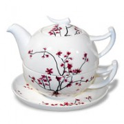 Tea-for-one 'Cherry Blossom'